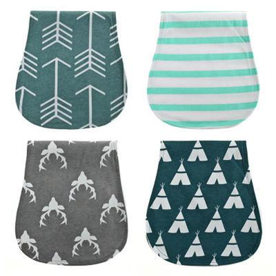 Baby Burp Cloths Set 4 pack