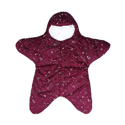 Newborn Infant Baby Bunting Bag Winter Starfish Sleeping