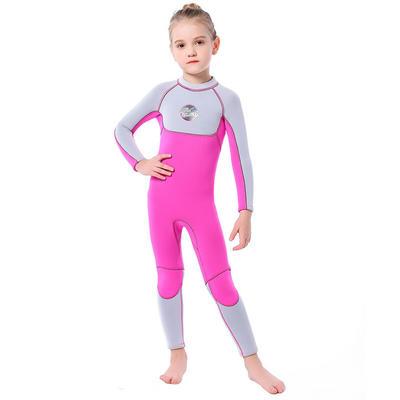 Girls 3mm Neoprene Thermal Warm Wetsuit Sun Protection
